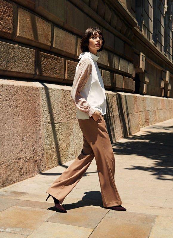 fc28ac4c72567b Shopping >> Les nouveautés mode. Tenue pour le travail. H&M lookbook femme  automne-hiver 2018