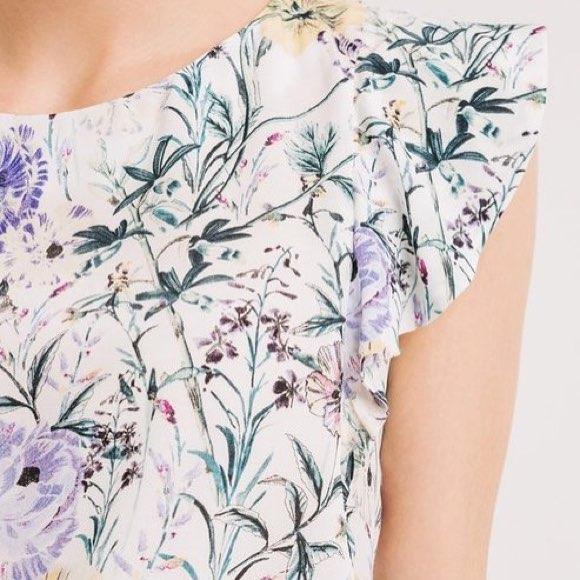 Robe à fleurs bucolique