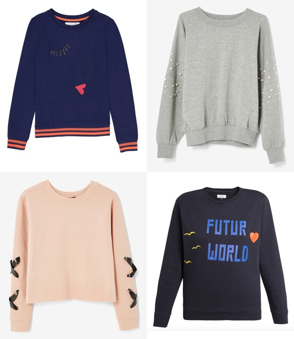 Sweat tendance automne-hiver 2018