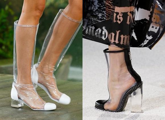 Tendances chaussures printemps t 2018 taaora blog - Botte plastique femme ...