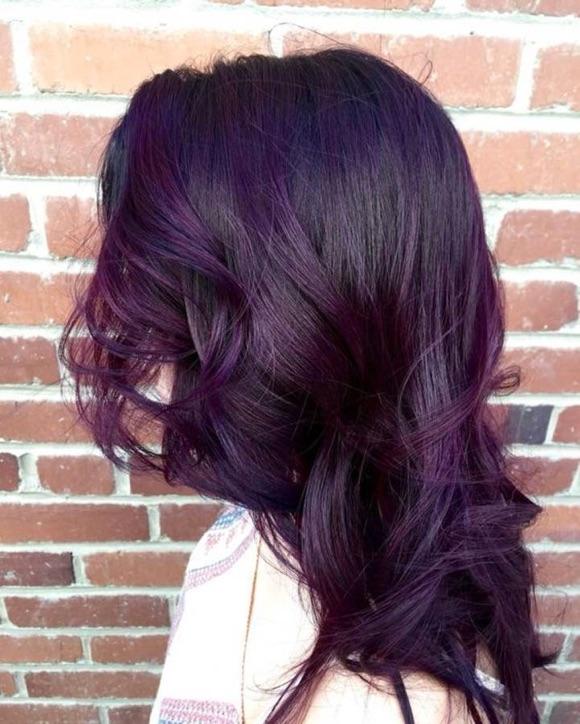 Exceptionnel Cheveux violets : la coloration tendance du moment – Taaora – Blog  CX97