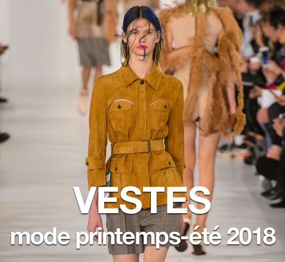 Tendance mode printemps 2018