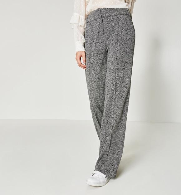 Pantalon style tailoring pour femme
