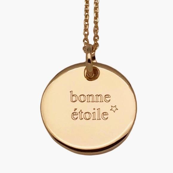 Collier pendentif Bonne Étoile