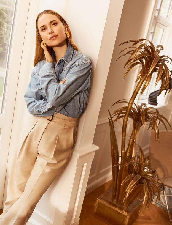 Looks page 3 taaora blog mode tendances looks - Avec quoi porter une chemise en jean ...