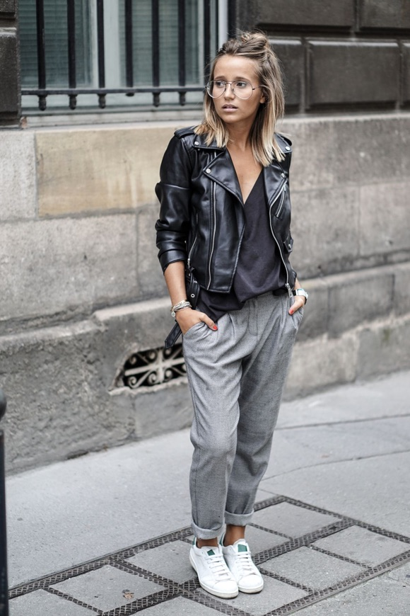 75aac9857446a Streetstyle : comment être chic en baskets ? – Taaora – Blog Mode ...
