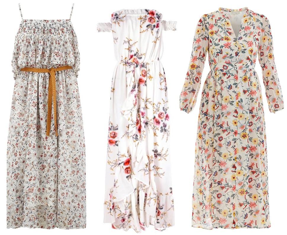 vente professionnelle meilleur grossiste grande vente de liquidation Robes longues bohèmes à fleurs – Taaora – Blog Mode ...