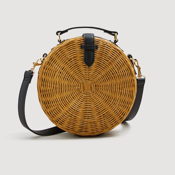 another chance wholesale price differently Sac coffre en bambou tendance été 2018 – Taaora – Blog Mode ...
