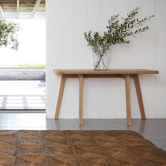Console table en bois chêne