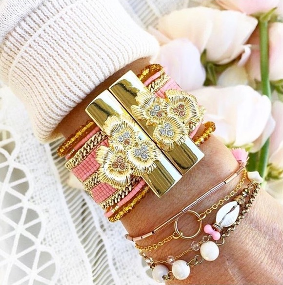 Hipanema bracelet rose