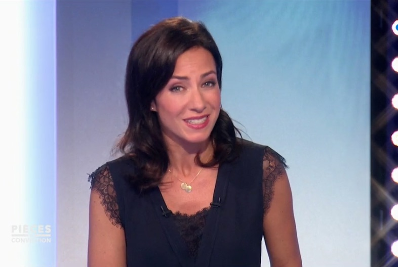 Virna Sacchi top dentelle Morgan
