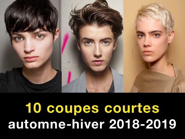 10 Coupes Courtes Automne Hiver 2018 2019 Taaora Blog Mode