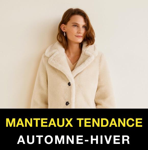 Manteau femme hiver 2019 noir