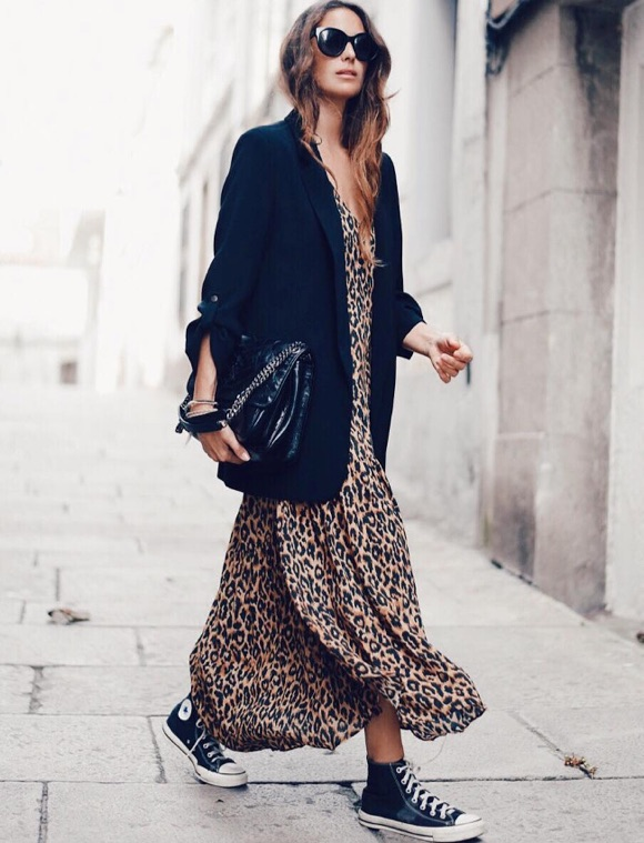 Robe léopard comment porter ?