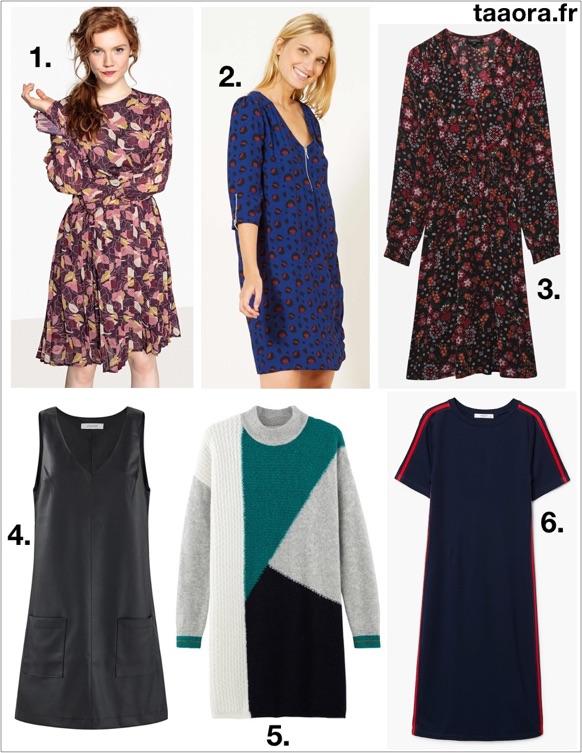 robes tendances automne hiver 2018 2019 taaora blog mode tendances looks. Black Bedroom Furniture Sets. Home Design Ideas