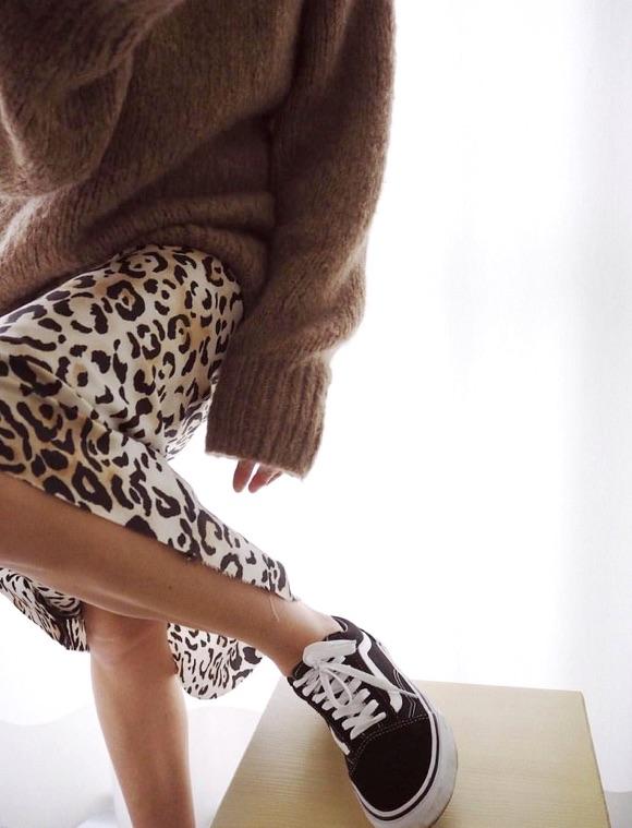 Jupe léopard avec quoi porter ?