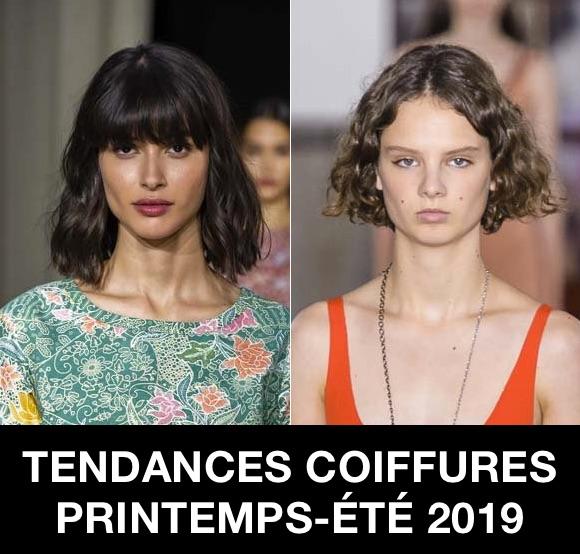 Coiffures printemps-été 2019