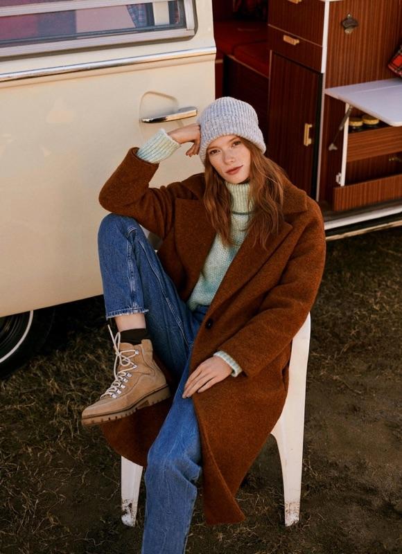 Avec quoi porter un manteau marron camel ?