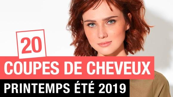Coiffure femme printemps-été 2019