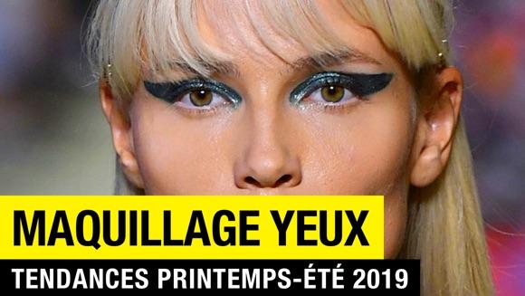 Maquillage yeux tendance printemps-été 2019