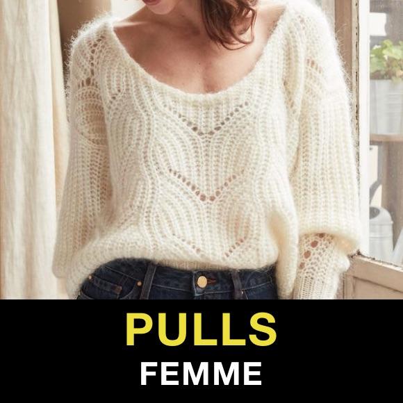 Pull femme tendance
