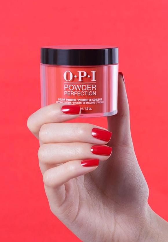 O.P.I Powder Perfection rouge