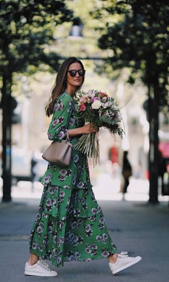 Avec quoi porter une robe longue ?