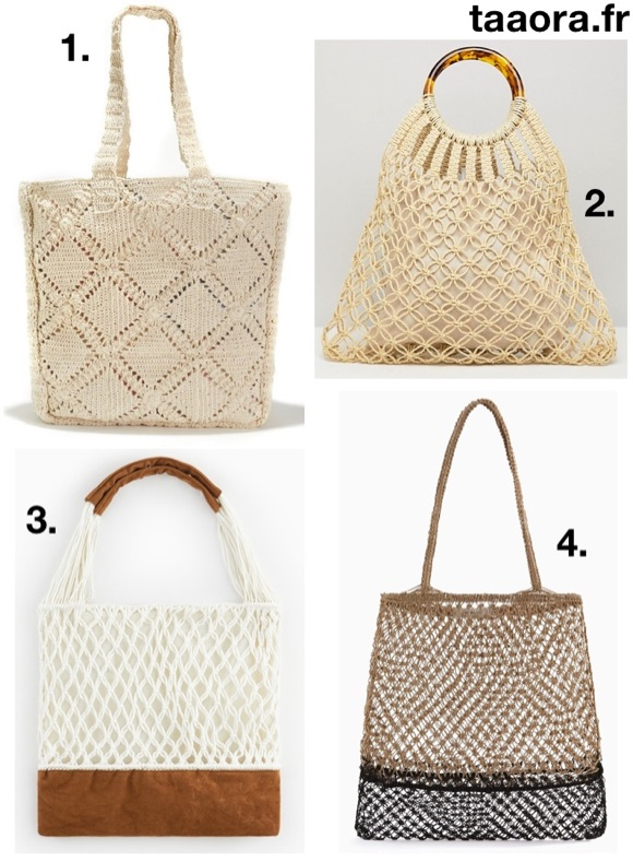 more photos another chance reliable quality Tendances sacs printemps-été 2019 : le sac macramé – Taaora ...