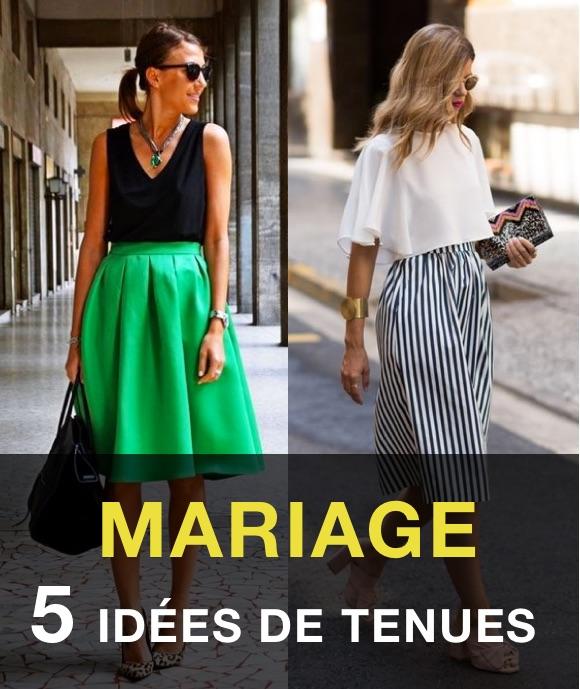 pick up good detailed look Invitée mariage : 5 tenues de cérémonie avec une jupe ...