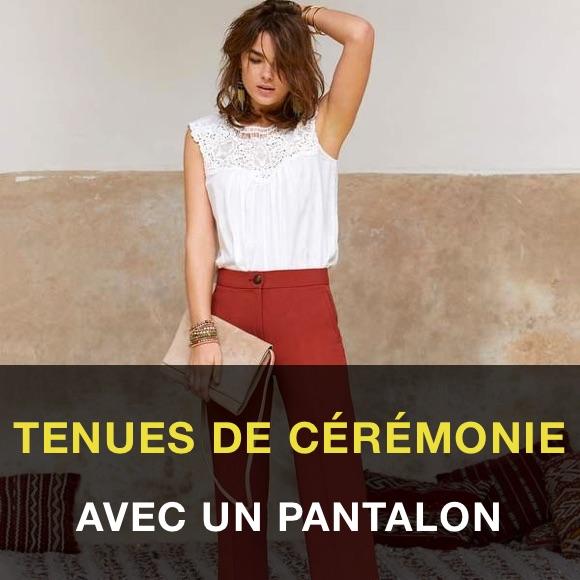 Tenue mariage femme pantalon