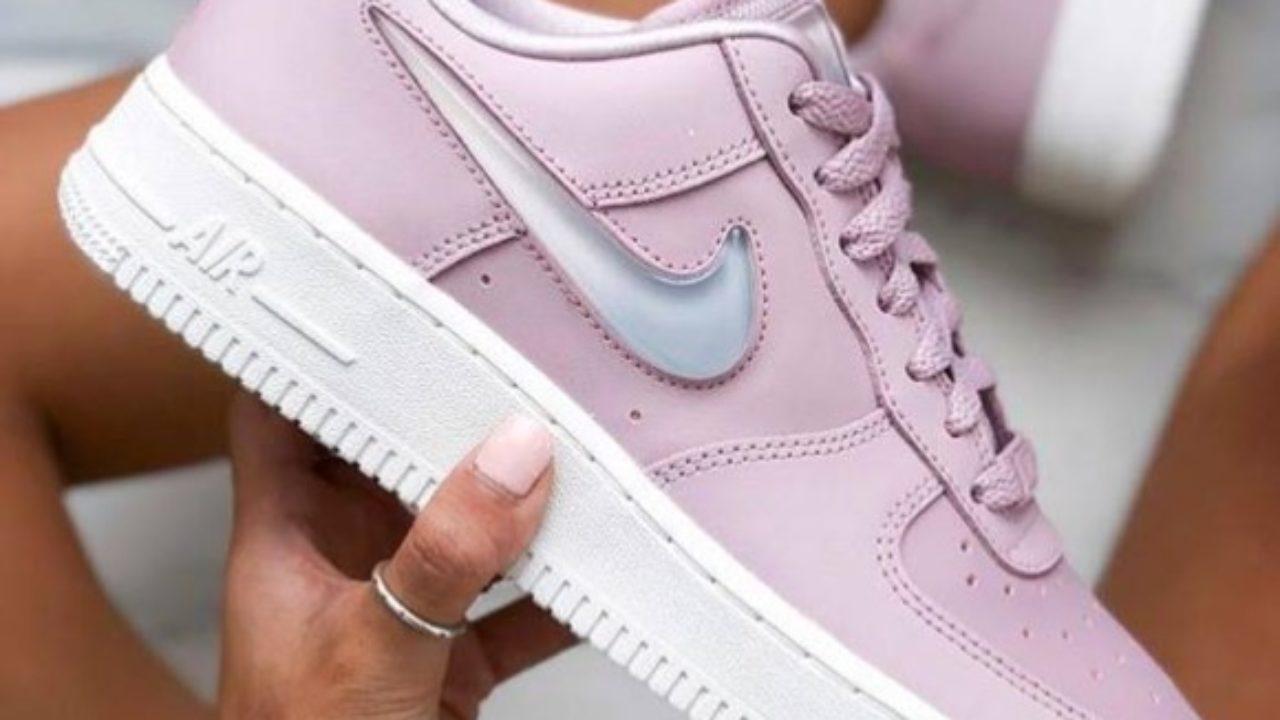 Les Nike Air Force 1 en rose pastel : parfaites pour nos looks d ...