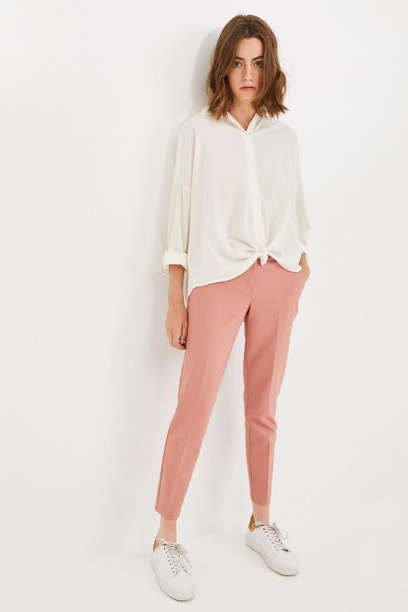 Pantalon rose idée look