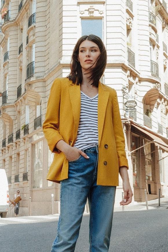 Avec quoi porter une veste jaune ?