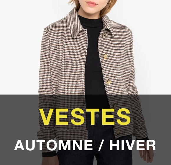 Vestes mode automne-hiver 2020