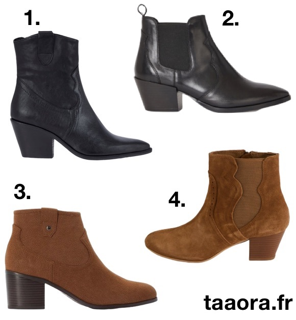 Santiags femme boots western