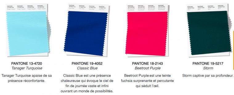 Quelles sont les couleurs à la mode en 2020 ?