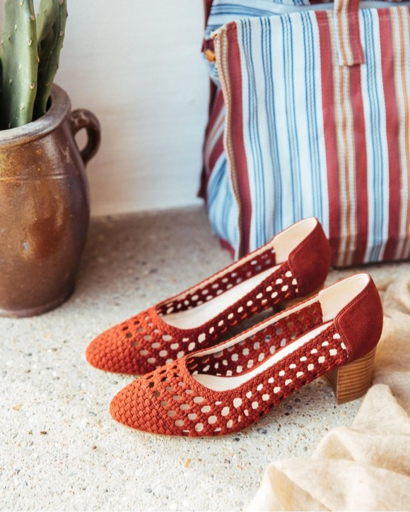 Chaussures ajourées femme tendance