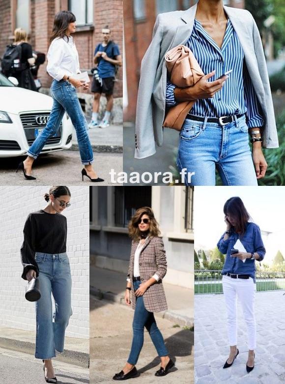 Comment porter le jean au bureau ?