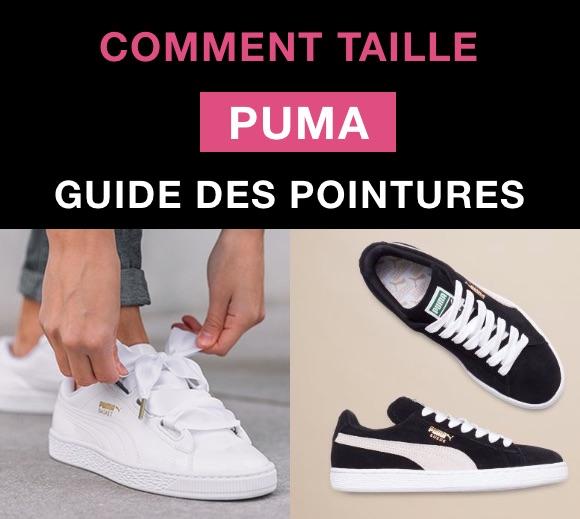 Comment taille Puma ? Quelle pointure prendre ?