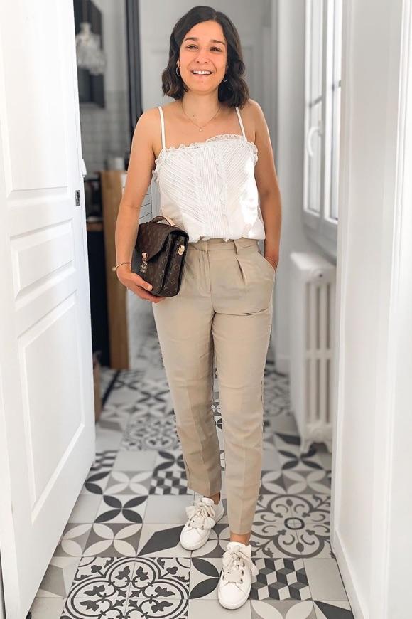Pantalon beige femme : comment porter ?