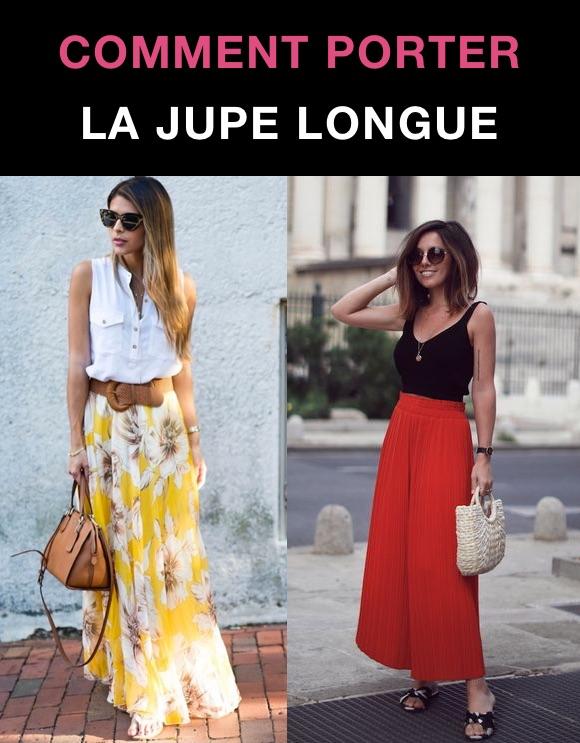 Que porter avec jupe longue ? Tenue été