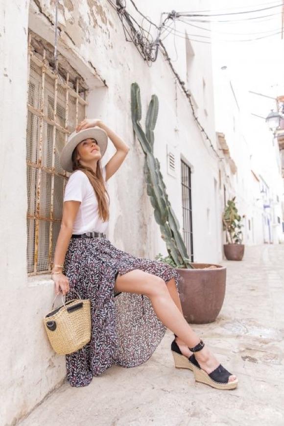 Comment porter une jupe en été ?