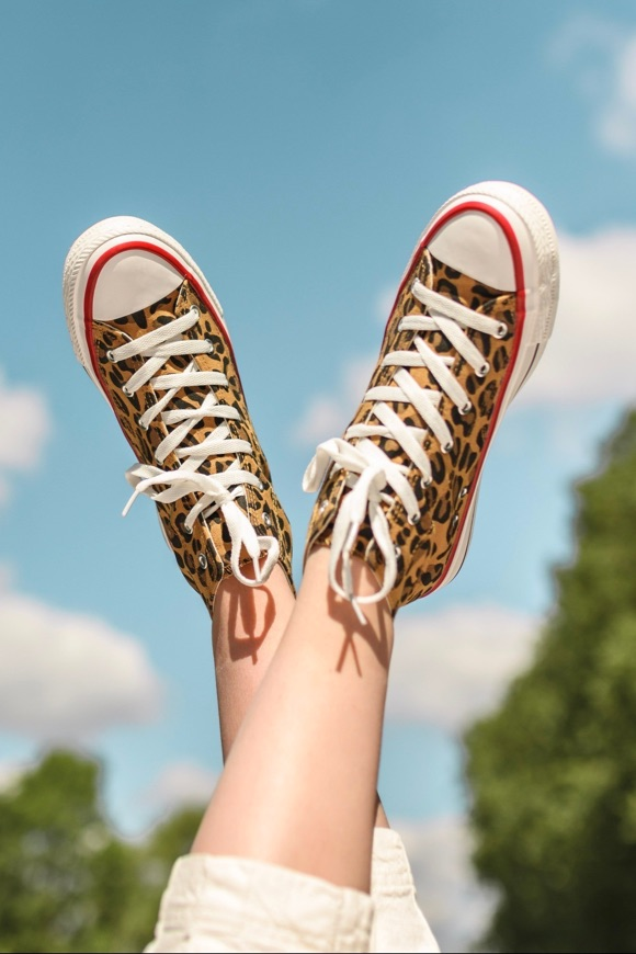 Baskets léopard femme comment porter