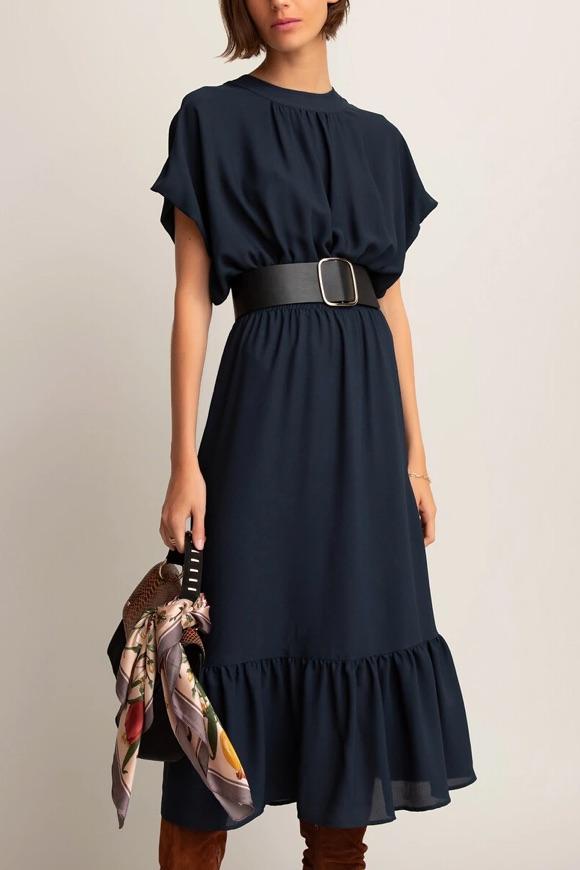 Que porter avec une robe longue en automne