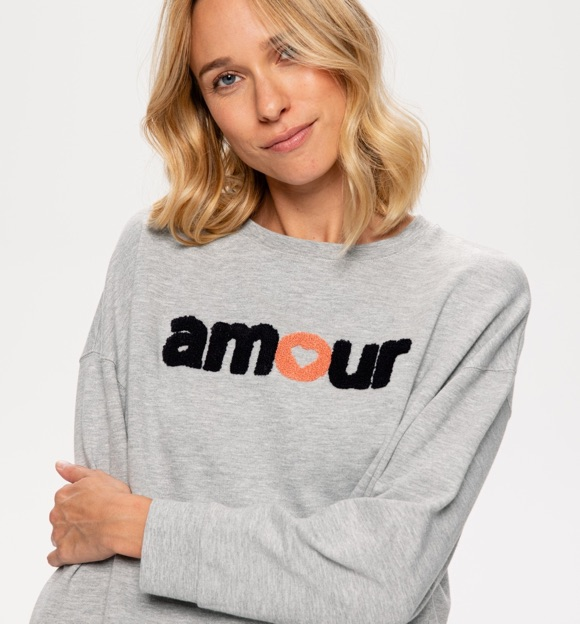 Sweat message Amour Promod