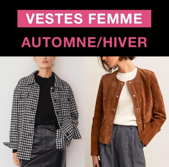 Veste femme tendance automne/hiver 2021