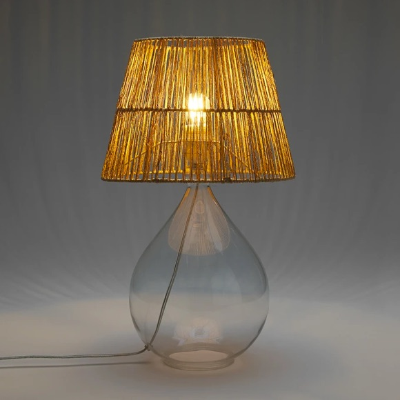 Lampe verre Dame Jeanne