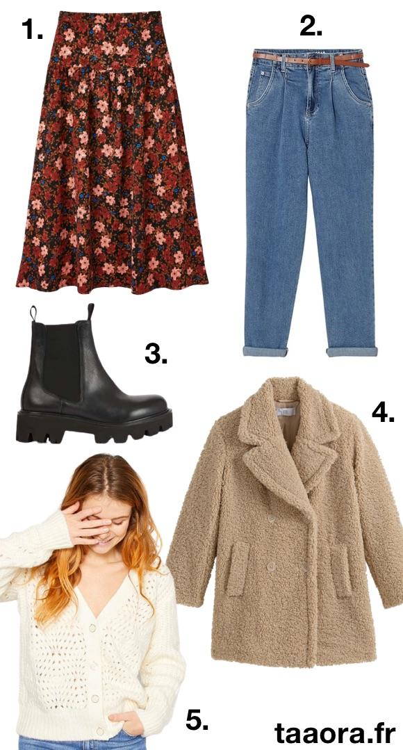 Mode femme automne-hiver 2020-2021