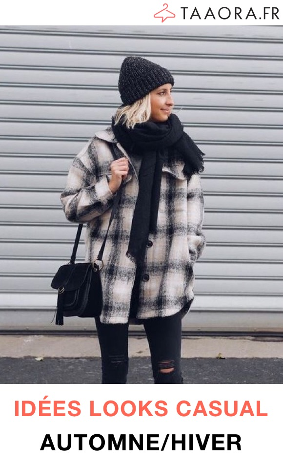 Look casual hiver femme