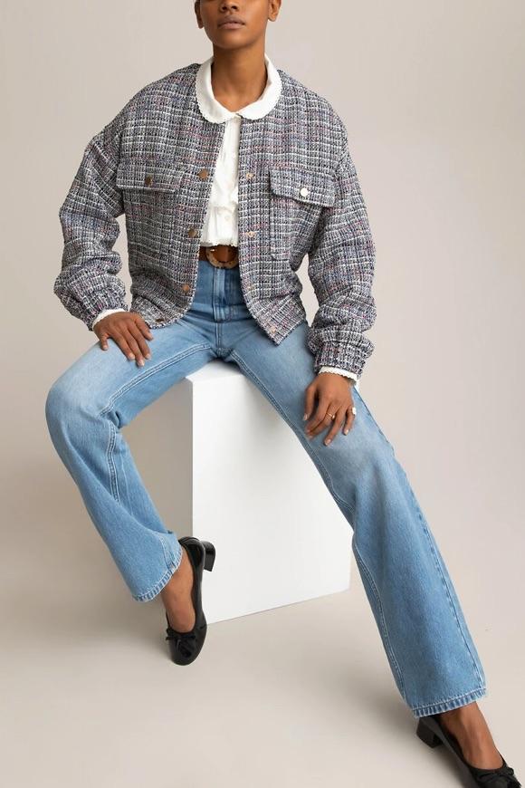 Tenue avec jean large